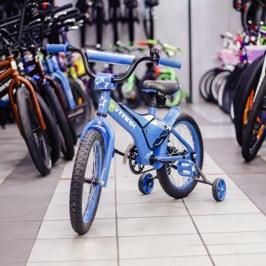 Велосипед Stark'20 Tanuki 16 Boy голубой-белый