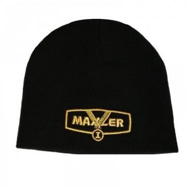 Maxler Promo Black Cap - Gold Logo - (Черная шапка с золотым логотипом)