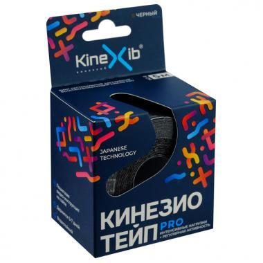Кинезио-тейп Kinexib Pro 5м*5см (Черный)