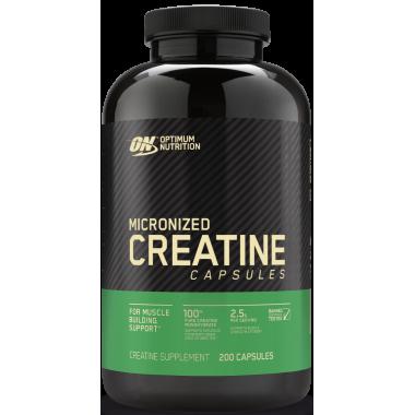 Optimum Nutrition Micronized Creatine 200 капс