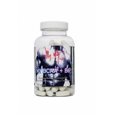 MY WAY BCAA + B6 1000 mg 100 табл