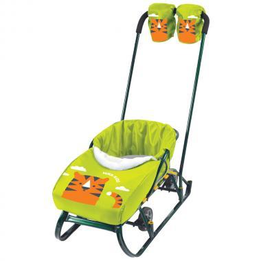 Набор для санок НИКА варежки сиденье Тигр лимонный*5 НС1
