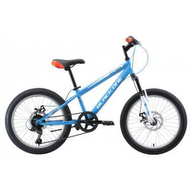 Велосипед Black One Ice Girl 20 D голубой белый оранжевый