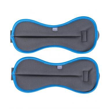 Утяжелители универсальные STARFIT WT-501, 2 кг, черно-синий