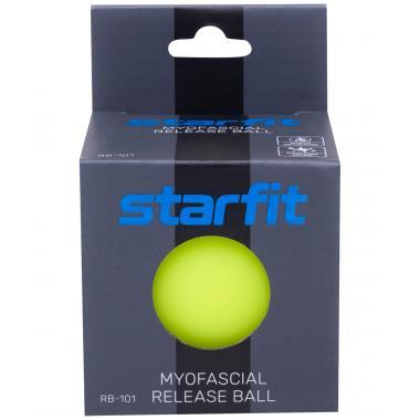 Мяч для МФР STARFIT RB-101, 6 см, ярко-зеленый