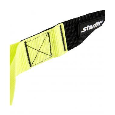 Петли тренировочные STARFIT FA-701, черный/зеленый