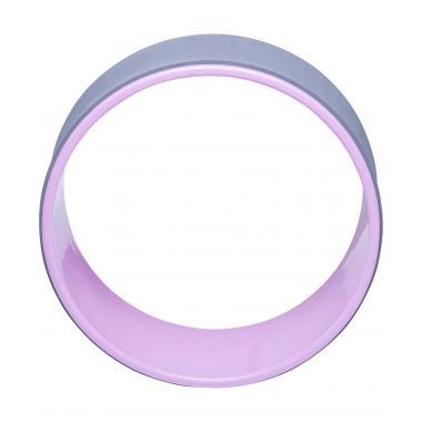 Колесо для йоги STARFIT YW-101, 32 см, серо-розовый