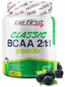 Be First BCAA 2:1:1 CLASSIC powder 200 г ежевика