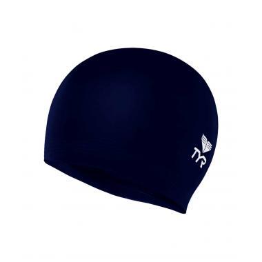 Шапочка для плавания Latex Swim Cap, латекс, синий, LCL/401