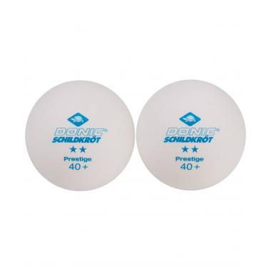 Мяч для настольного тенниса Donic-Schildkröt 2* Prestige, белый (6 шт.)
