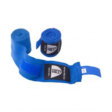 Бинт боксерский Green Hill BP-6232a, 2,5м, эластик, синий