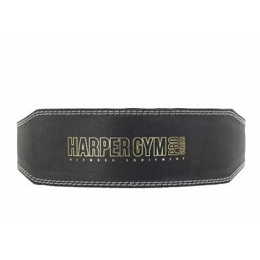 Пояс для тяжелой атлетики (узкий) Jabb/Harper Gym JE-2623 черный натуральная кожа M