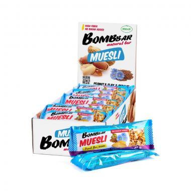 Мультизлаковый Bombbar 45гр (коробка 21 шт.) (Клубника)