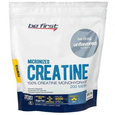 Be First Creatine powder (пакет) 500 г без вкуса