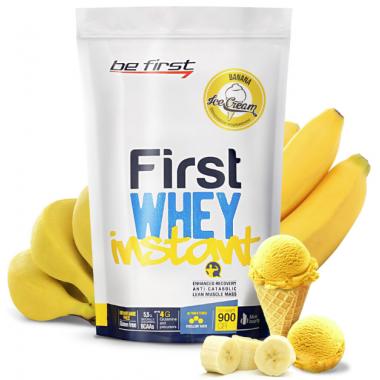 Be First First Whey instant 900 г банановое мороженое