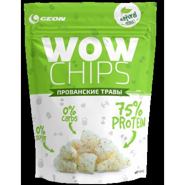 GEON WOW Protein Chips 30 г Прованские травы