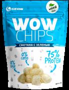 GEON WOW Protein Chips 30 г Сметана и зелень