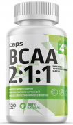 4Me Nutrition BCAA 2:1:1  500 мг 120 капс - BCAA