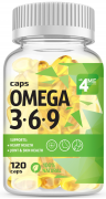 4Me Nutrition Omega 3-6-9 120 капсул