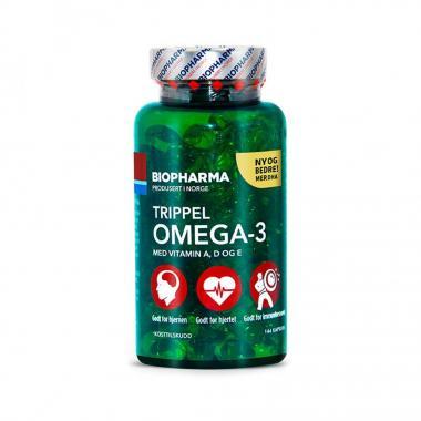 Biopharma Omega-3 triple 144 капс