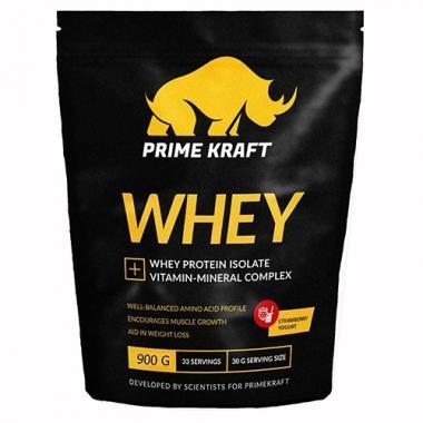 Prime Kraft Whey protein (спец. пищевой продукт СГР) 900 г Дикая вишня