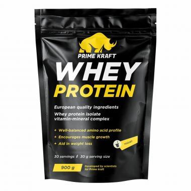 Prime Kraft Whey protein (спец. пищевой продукт СГР) 900 г Йогурт