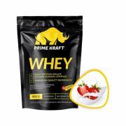 Prime Kraft Whey protein (спец. пищевой продукт СГР) 900 г Клубничный йогурт