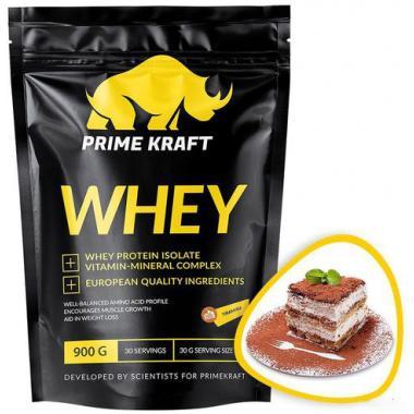 Prime Kraft Whey protein (спец. пищевой продукт СГР) 900 г Тирамису