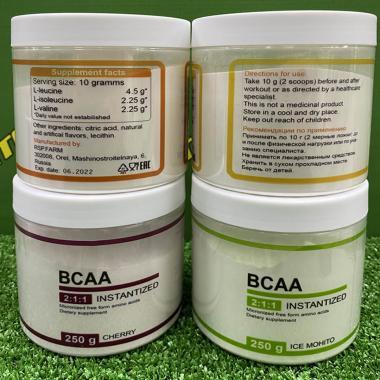 """BCAA Instant """"Кола"""", 250 г"""