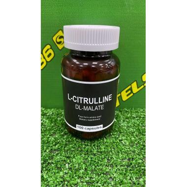 L-Citrulline-malate, 100 капсул