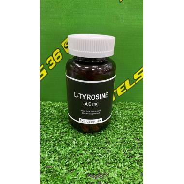 L-Tyrosine 500 mg, 100 капсул