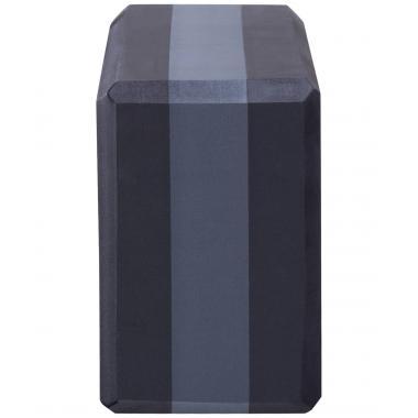 Блок для йоги STARFIT YB-201 EVA, 22,8х15,2х10 см, 350 гр, черно-серый