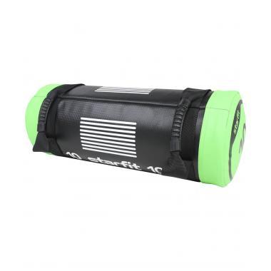 Мешок-утяжелитель STARFIT WT-601 10 кг, черно-зеленый