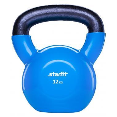 Гиря виниловая STARFIT DB-401 12 кг, синяя