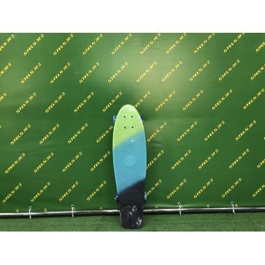 Скейтборд пластиковый Tricolor 27