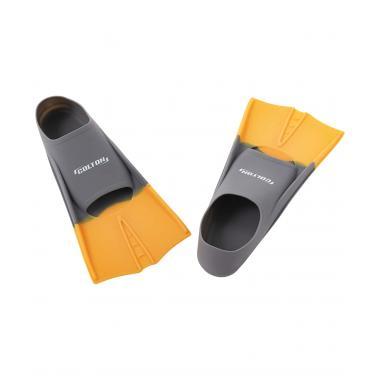 Ласты тренировочные CF-01, серый/оранжевый, размер 30-32 Colton