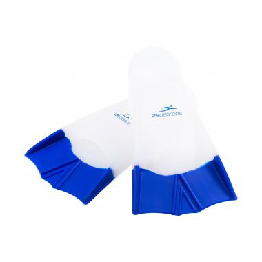 Ласты тренировочные Aquajet White/Blue, M 25Degrees