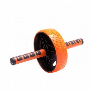 Ролик гимнастический BF-WG04 черно-оранжевый