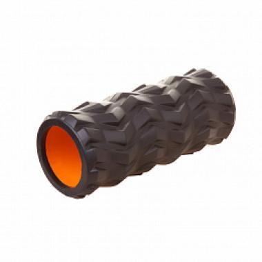 Ролик массажный BF-YR02 черный-оранжевый