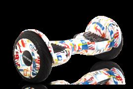 "Гироскутер Smart Balance 10,5"" Premium Белый граффити"