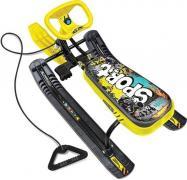 Снегокат Тимка спорт 1 - графити желтый ТС1/Г3 STREET