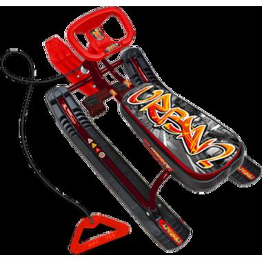 Снегокат Тимка спорт 1 - графити красный ТС1/ГК