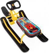 Снегокат Тимка спорт 1 ТС1/F1 Nika kids F1 (желтый каркас)