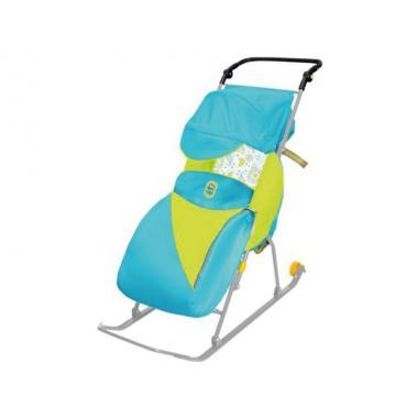 Санки коляска Тимка 2 Классик с колесом