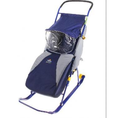 Санки коляска Тимка 2 Комфорт + с  колесом