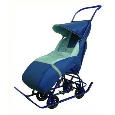 Санки детские ВЕТА СУ11-3К-СРТ (коляска 4Б колеса)