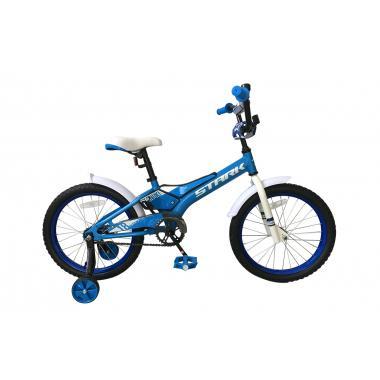 Велосипед Stark'19 Tanuki 18 Boy голубой-белый