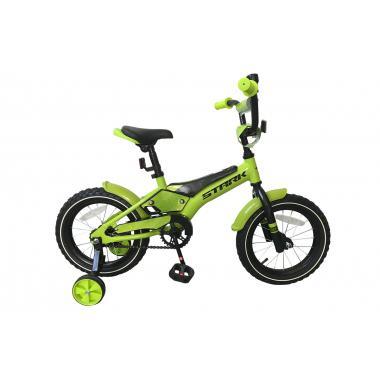 Велосипед Stark'19 Tanuki 14 Boy зелёный-чёрный