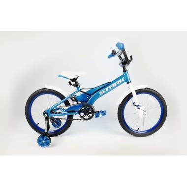 Велосипед Stark'20 Tanuki 18 Boy голубой-белый