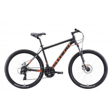"""Велосипед Stark'20 Indy 26.2 D чёрный-оранжевый-белый 20"""""""